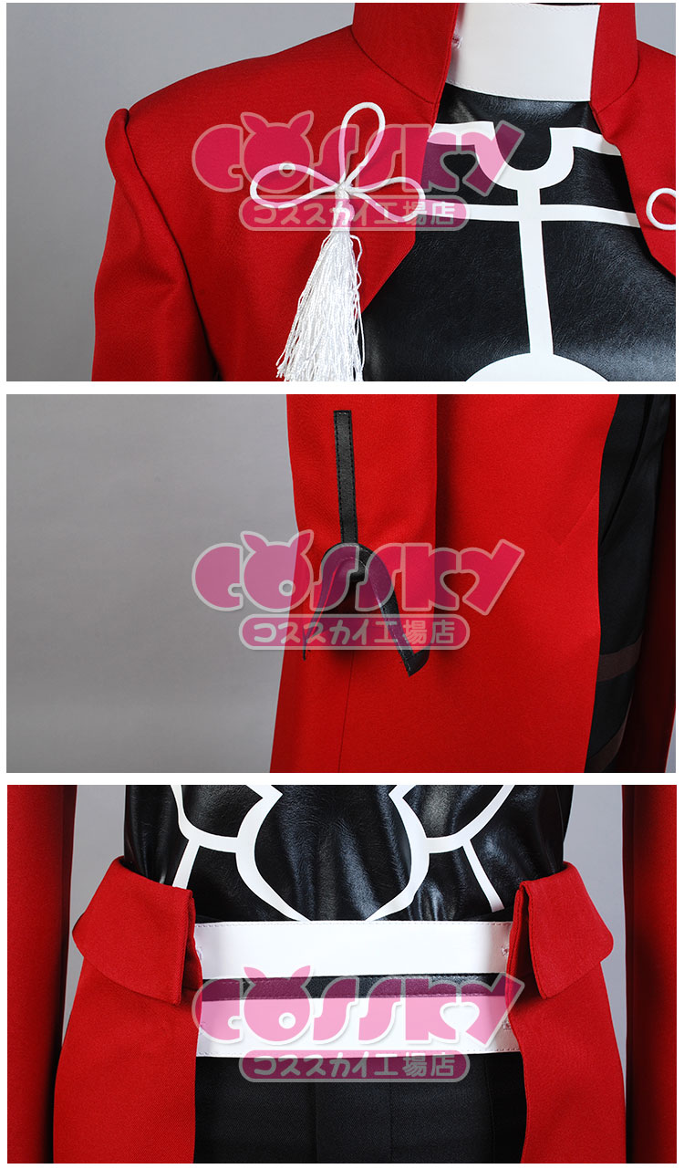 EMIYA cosplay Fate stay night cosplay costume archer red A emiya cosplay costume Uniform oufit fell set 5