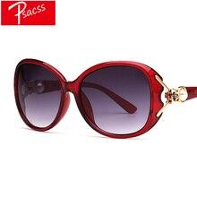 Psacss NEW Oversized Vintage Sunglasses Women Retro Brand Designer Female Elegant Pearl Sun Glasses oculos de sol feminino UV400