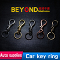 Car Key Ring Chain Keychain For BMW Mercedes Volkswagen Toyota Honda Buick Men And Women Retro Chaveiro Porta Chaves llaveros