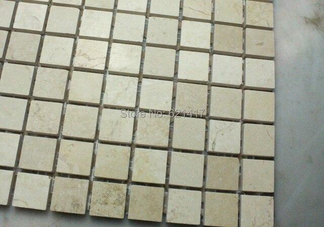 Mozaiek Badkamer Tegels : Gratis verzending egypte beige marmeren steen mozaïek tegels