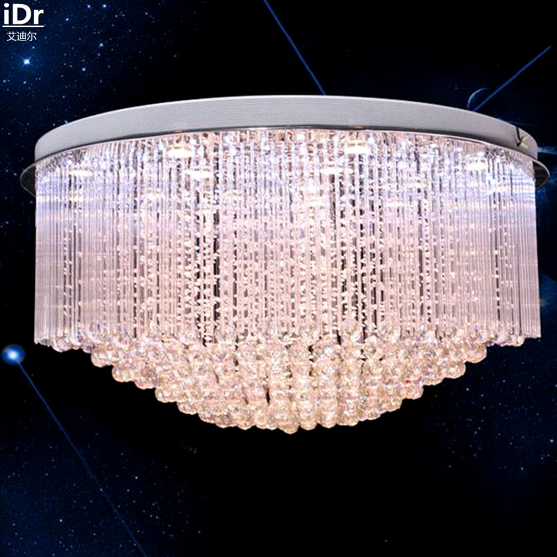 Image 3 - Circular light engineering factory direct low pressure crystal lamp lighting the clear light glass rod Ceiling Lights Rmy 0126-in Ceiling Lights from Lights & Lighting
