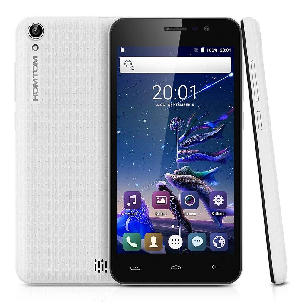 Homtom HT16 Android 6.0 5.0 pouce 3G Smartphone caméra Frontale 2.0MP (SW 5.0MP) + arrière caméra 5.0MP (SW 8.0MP) avec flash light