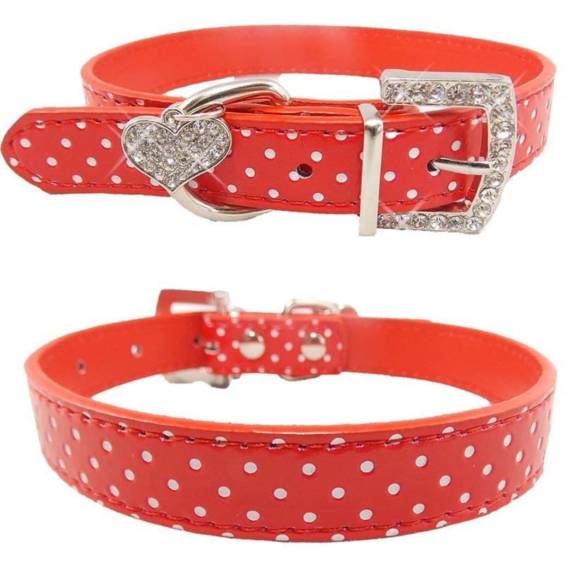 Hewan peliharaan Anjing Kerah Polka Dot Pola Aksesoris Anjing Untuk - Produk hewan peliharaan - Foto 1