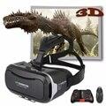 Shinecon 2.0 VR Pro Версия Виртуальная Реальность 3D Очки Гарнитура Google картонная КОРОБКА 3.0 Фильм Игра Для 4.7-6 дюймов Телефон + Пульт Дистанционного