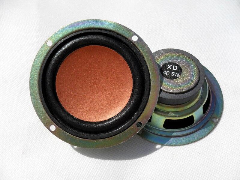2pcs 3 5 inch 4 ohm 5W Full range speakers Bluetooth font b mobile b font