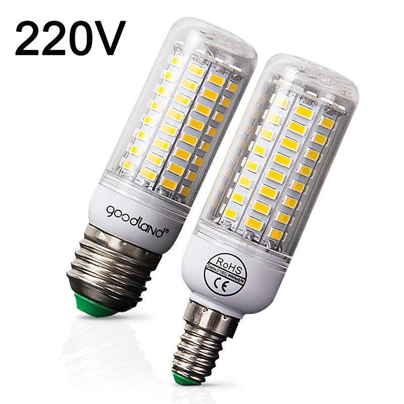 E27 светодиодная лампа E14 светодиодные лампы 220 В Кукуруза лампы теплый белый холодный белый 24 36 48 56 69 72 светодиоды для дома современный Гостиная свет