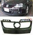 3 k Real Carbon Fiber Parachoques Delantero Mesh Grille Honeycomb Grill Para VW Golf V GIT Golf MK5 GTI Golf 5 GTI V046