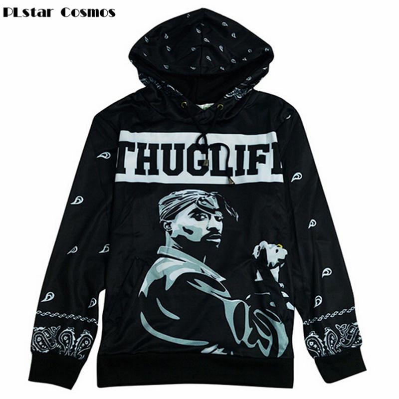 Hip Hop 2pac Rapper Tupac 3DHoodie Unisex Sweater Sweatshirt Jacket Pullover Top