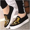 HEFLASHOR 2019 Fashion Women Loafers Vulcanize Shoes Canvas Sequins Sneakers Shoes Ladies Slip On Breathable Shallow Casual 2