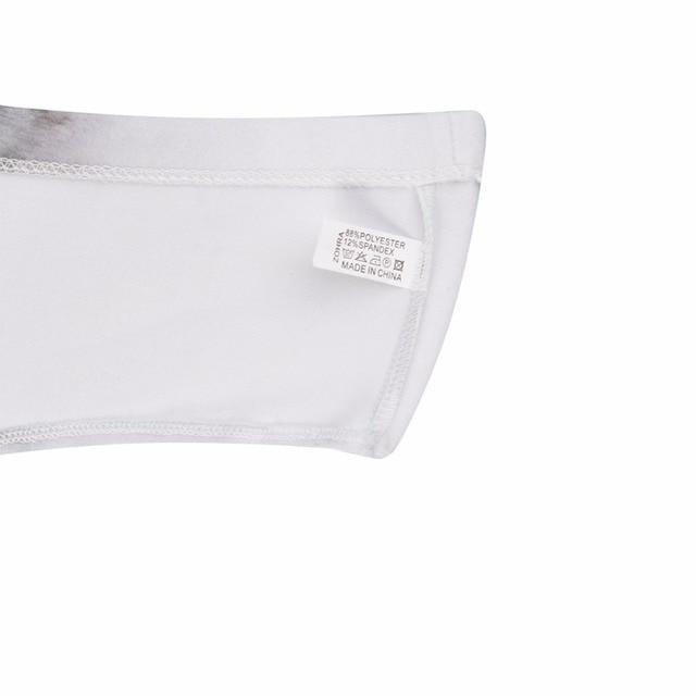 adf2b7a55a68 ... 3D Animal Print Cute Underwear Briefs with Pig Ears Cat ear Fox ear Pig  Wolf Printing Cute Underwear For Women. Previous