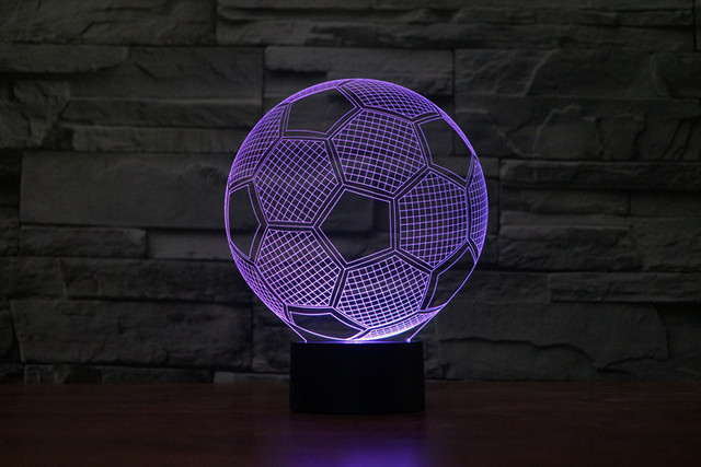 New Arrival 3d Light Effect Lamp Usb Nightlight Home