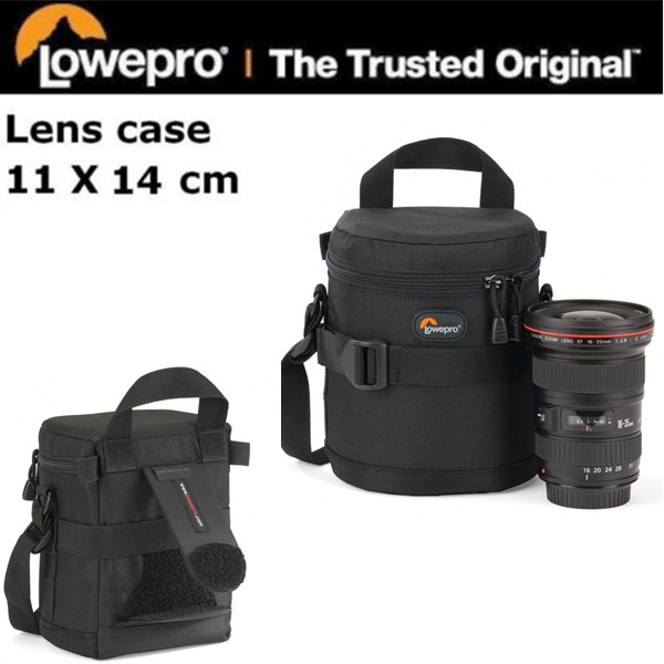 Free Shipping NEW Lowepro Lens Case 11 x 14cm Bag for Standard zoom lens to 24-70mm Promotion Sales