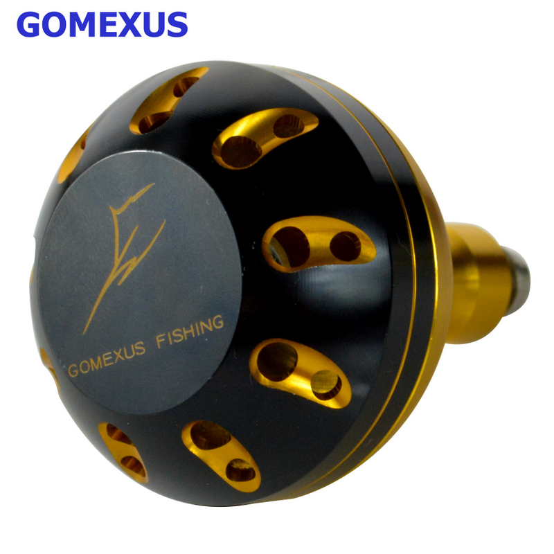 Power Knob 47mm For Daiwa BG Penn Spinfisher Battle Penn Z Shimano Ultegra Reel Handle Drill Fitment Gomexus