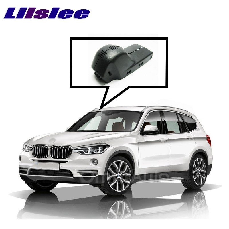 LiisLee Car Black Box WiFi DVR Dash Camera Driving Video Recorder For BMW X1 F48 X3 F25 2010~2017 for bmw x3 x1 2015 driving recorder car dvr mini wifi camera full hd 1080p car dash cam video recorder original style black box