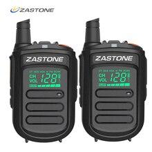 2Pcs Zastone Mini9แบบพกพาMini Walkie Talkieวิทยุสมัครเล่นวิทยุ128ช่องเครื่องส่งรับวิทยุFM Transceiverวิทยุ