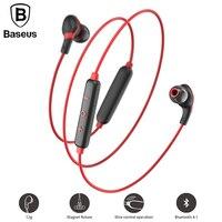 Baseus S04 Bluetooth Earphone Wireless Headphones Lightweight Neckband Magnetic Auriculares Kulakl K With Microphone For Xiaomi