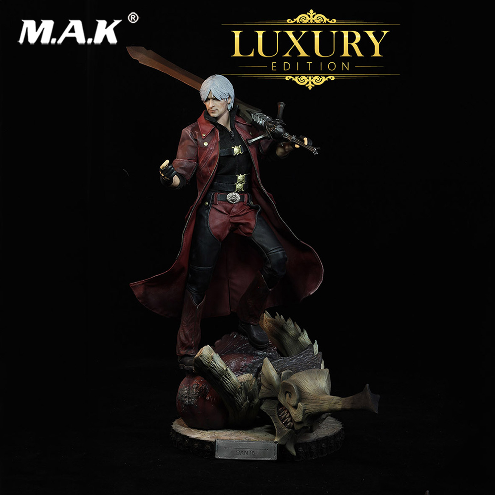 1:6 Scale The Dante Figure Devil May Cry 4 Series Action Figure Model Luxury Editon for Collection weisberger l weisberger the devil wears prada page 1