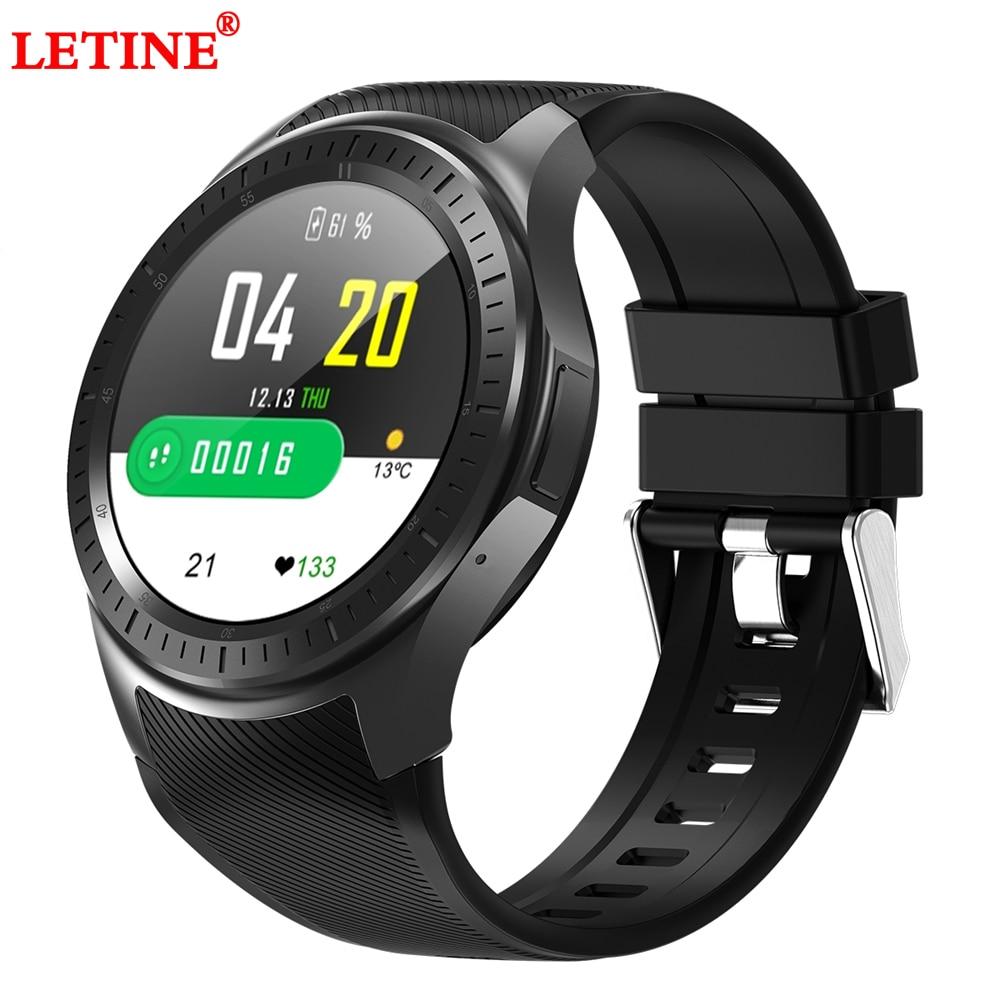 GPS Fitness Tracker montre intelligente DM368 Plus Android 7.14G 1G + 16 GB WIFI Bluetooth fréquence cardiaque podomètre rappel d'appel SmartWatch