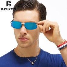 BAVIRON Beschichtung Gespiegelte Sonnenbrillen Für Männer Zu Fahren Polarisierten Photochrome Gläser UV400 Anti-Reflektierende Sonnenbrille 3043