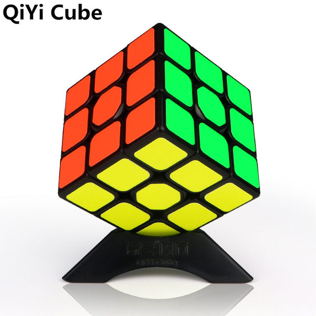 QiYi 3x3x3 Sail Magic Cube Warrior W Speed QiYi Cube stickerless Professional Puzzle Cubes Educational Toys For Children 1