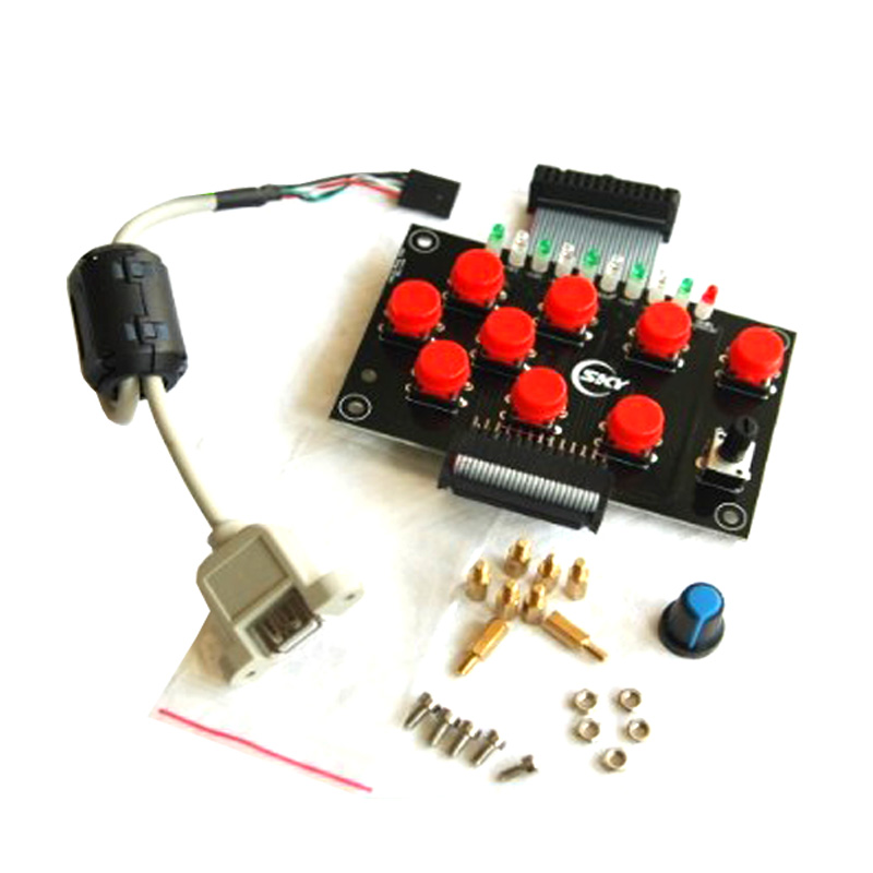CNC USB hand control link USBCNC jade woodworking engraving machine 4 axis 3 axis control card