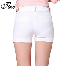 Lady Leisure Skinny Office Shorts