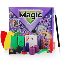 New Magic Props Set with Box for Magicians Street Stage Magic Tricks Play Diffrent Kinds of Magic Toys for Kids Gifts
