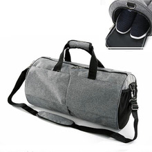 купить 50L Waterproof Sports Gym Bag for Women Men Fitness Yoga Travel Luggage Bags Shoes Storage Shoulder Crossbody Bag training bag по цене 1246.04 рублей