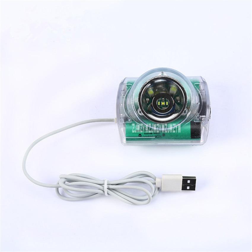 10Pcs/lot New IWS5A High quality Multi purpose HeadLamp High Brightness For Mining Hunting Camping Lamp USB Charger 6.2Ah 3.7V