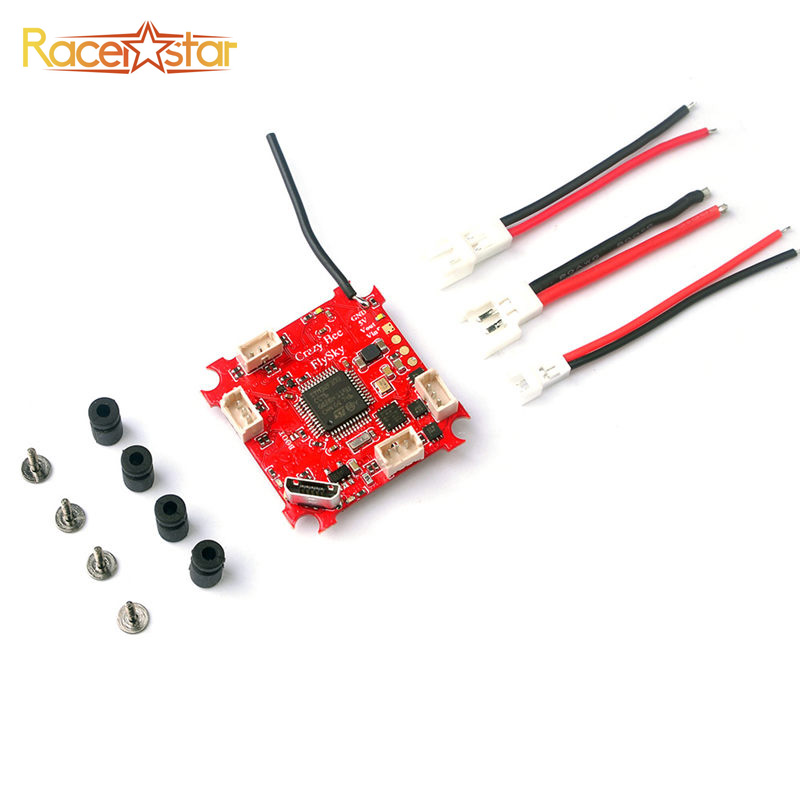 купить Racerstar Crazybee F3 Flight Controller 4 IN 1 5A 1S Blheli_S ESC For Flysky AFHDS Receiver RC Models Frame Motor Multicopter онлайн