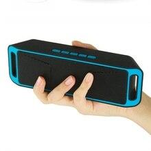 Портативный Динамик Беспроводной Bluetooth Динамик мобильный автомобильный сабвуфер Портативный карты Mini Динамик с fm Радио