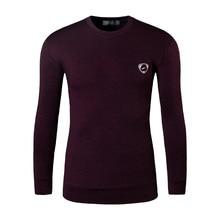 New Arrival 2019 Autumn and Winter Men Designer Turtleneck T Shirt Casual Slim Fit Thermal Shirts Tops USA Size S M L XL LA223