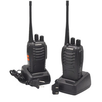888s שני הדרך רדיו 2Sets BF888S UHF משדר כף יד FM שני הדרך רדיו BF 888S Ham Communicator HF CB רדיו תחנת מכשיר הקשר Baofeng BF888S (2)