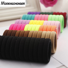24pcs/lot Elastic Hair Band Rope Scrunchies Seamless Tie Ponytail Holder Headband For Women Girls Gum Accessories