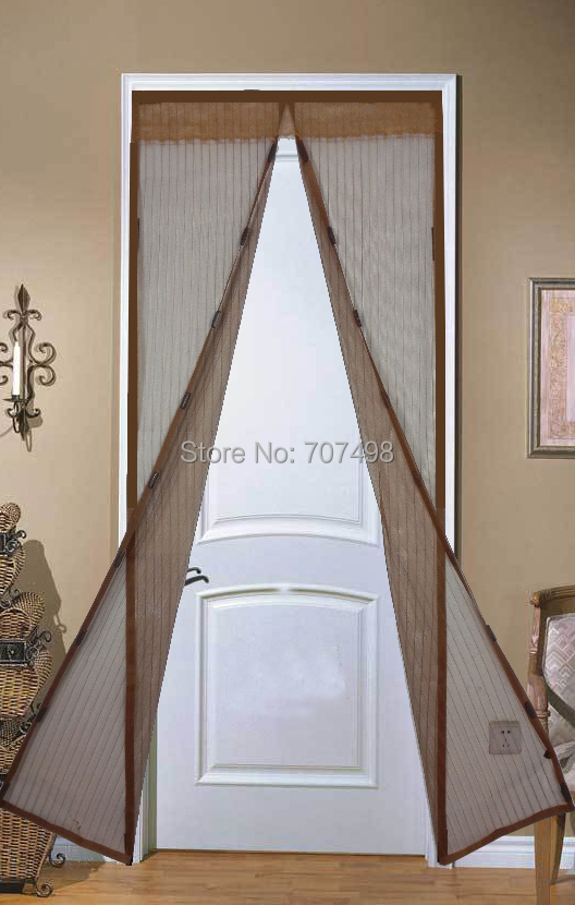 Magic Mesh Screen Door Curtain Curtain Menzilperde Net