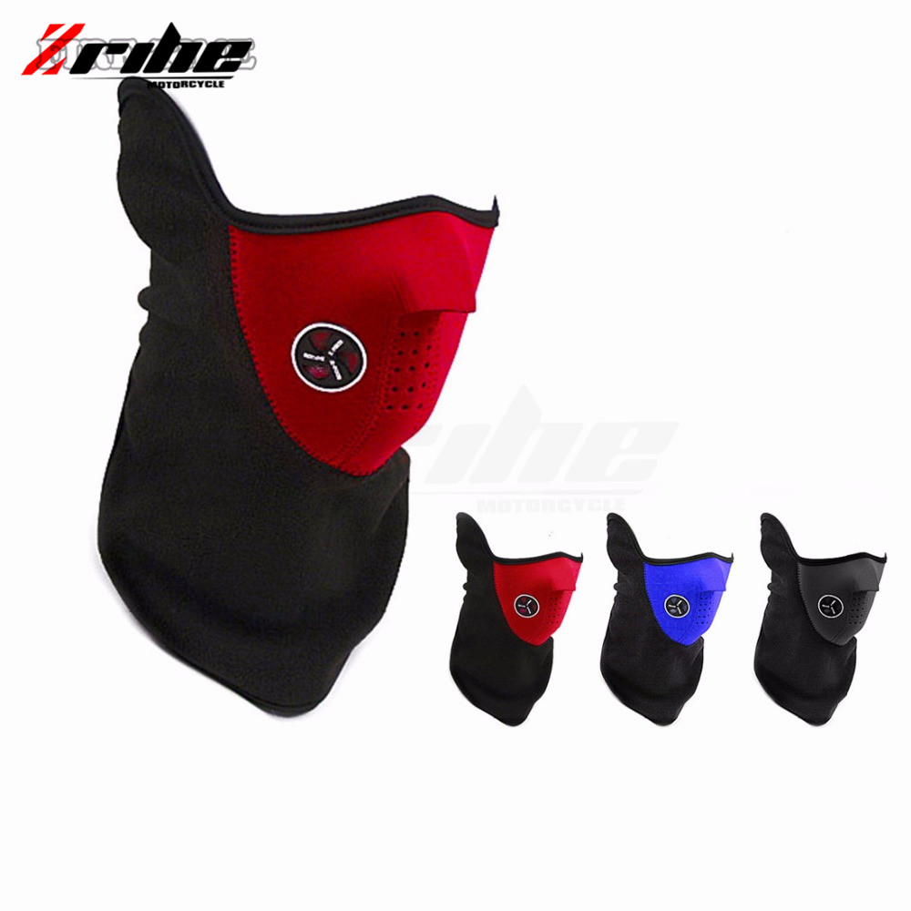 Motorcycle Mask Skiing Snowboard Neck Skull Masks For kawasaki z250sl z300 yamaha r15 r25 r3