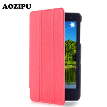 Extremely Slim Magnet Flip PU Leather-based Case for Huawei MediaPad T1 7.zero T1-701u 7 inch Pill eReader Protecting Stand Cowl