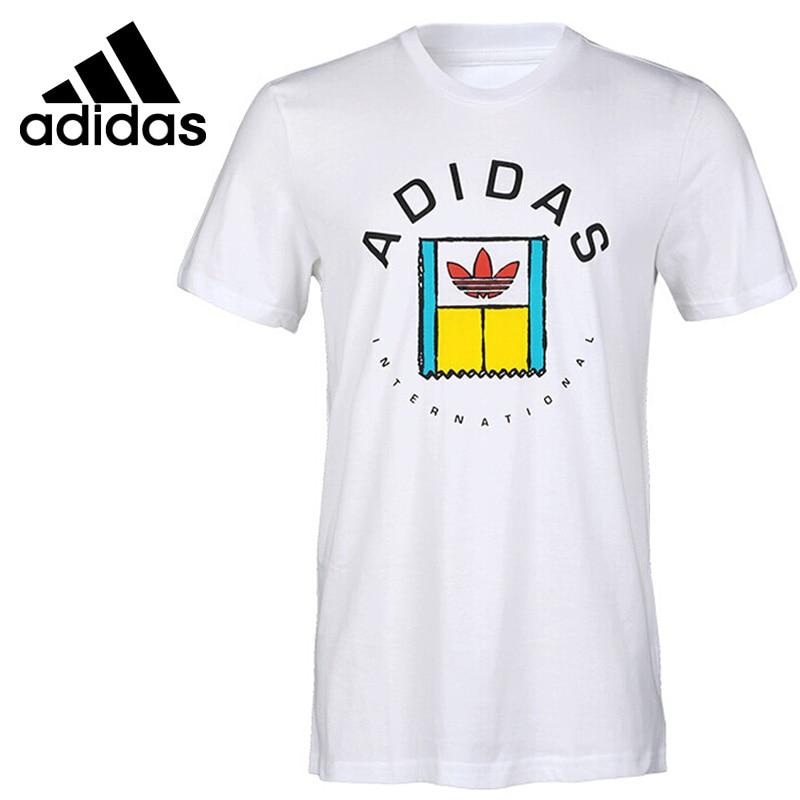 Nuovo Arrivo originale 2018 Adidas Originals ONCOURT TEE degli uomini di T-Shirt manica corta Abbigliamento SportivoNuovo Arrivo originale 2018 Adidas Originals ONCOURT TEE degli uomini di T-Shirt manica corta Abbigliamento Sportivo