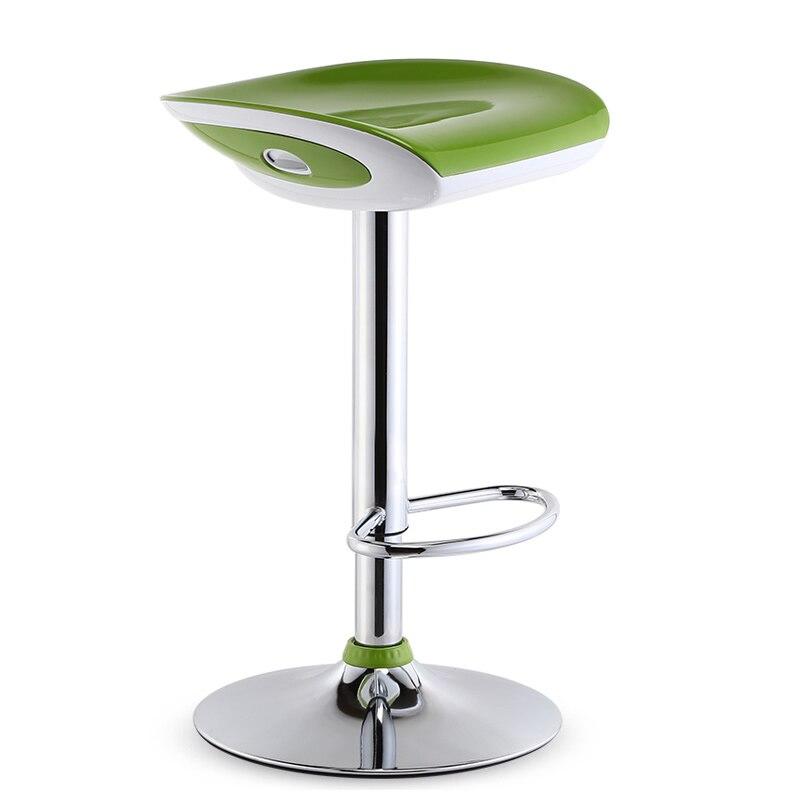 Qualité ABS assis chaise chaise de Bar levage tabouret haut européen moderne Ajustable tabourets de Bar chaise de Table chaise tabouret de beauté chaise