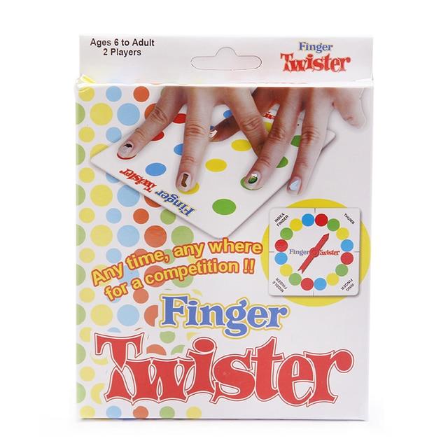 Dedo Twister Juego De Mesa De Juego Multijugador Para Ninos Adultos