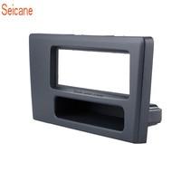 Siecane 1Din Black Modified Installation Car Radio Fascia Frame Stereo DVD Player Panel For Volvo XC70 V70 S60