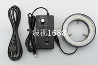 72mm LED Ring Light Trinocular Stereo Microscopes Light Source 72 LED Bulbs Adjustable Ring Light illuminator Lamp