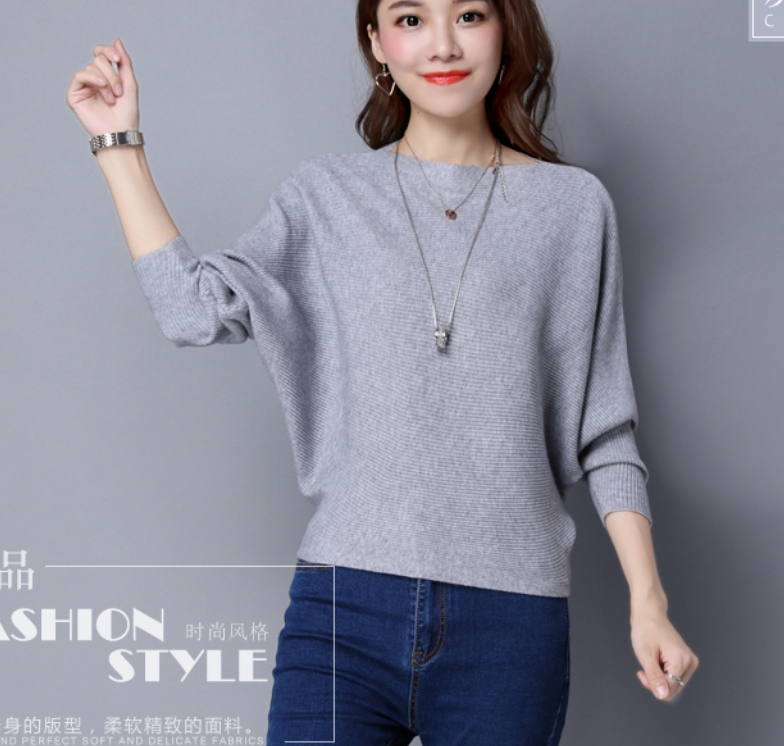 Pure Color Womans Sweater Knitted Korean Style Women Pullover Casual Ladies Thin Sweaters Womens Tops And Blouses Clothing 2