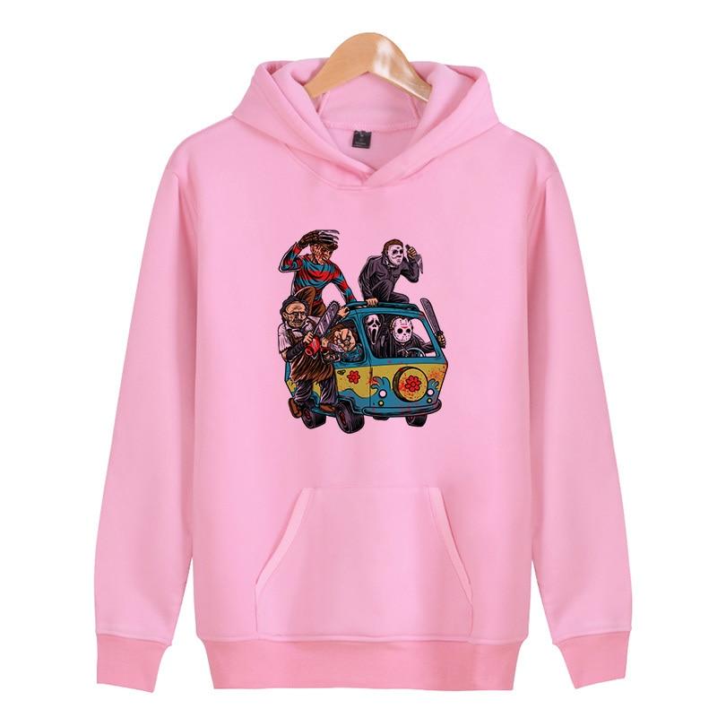 The Machine skull 2018 Autumn New Arrival High Printed Men Sweatshirt Hip-Hop Male Hooded Hoodies Pullover Hoody clothing X4548