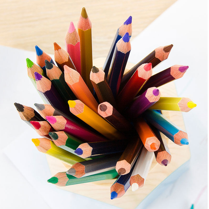 Image 5 - Faber Castell 36/48/72 Color Pencil for School Lapiz Oily Professional Sketch Pencils Rainbow Colors Lapis Escolar Stationery-in Standard Pencils from Office & School Supplies