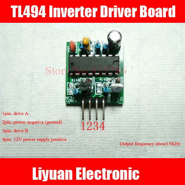 US $11 8 |5pcs TL494 Inverter Driver Board / Power Driver Driver Board /  Front Driver Board 15Khz-in Sensors from Electronic Components & Supplies  on