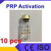 10 шт 1 мл бутылка биотин PRP активатор трубка раствор, prp активация хлорид кальция prp трубка Биотин