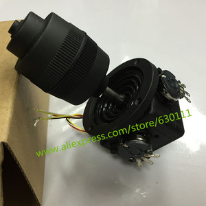 Image 3 - 4 axis potentiometer Joystick 400 series Rocker hall joystick dimensional resistance  5K sealed with button joystick