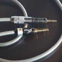 HiFi MPS X-7 HiFi 5N OCC+24K Gold Plated Plug 3.5mm-2.5 For HD8 DJ HD7 DJ HD6 DJ  MIX series Headphones Audio cable