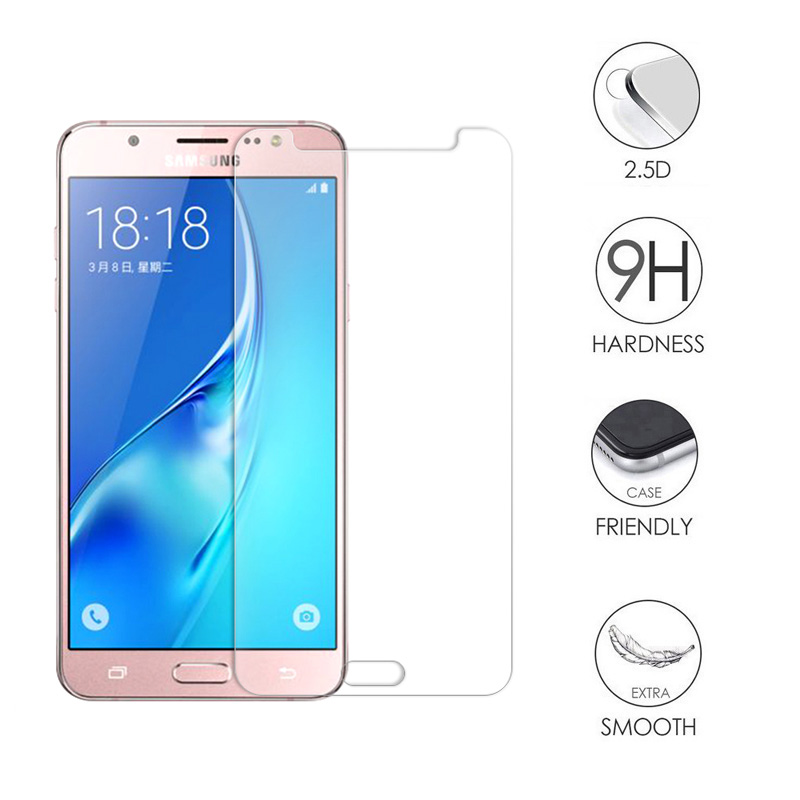 9H Tempered <font><b>Glass</b></font> For <font><b>Samsung</b></font> <font><b>Galaxy</b></font> J1 J2 J3 J5 <font><b>A3</b></font> A5 2016 <font><b>2015</b></font> J1 Mini J105F J2 J5 Prime Core 2 G355 Screen Protector Film image